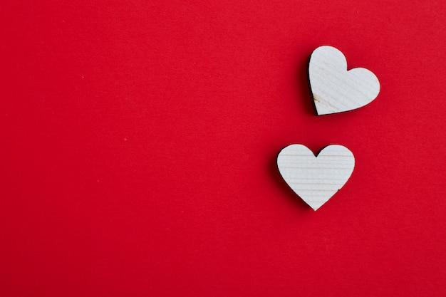 14 février valentine concept de coeurs Photo Premium