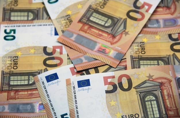 50 Euros D'arrière-plan Photo gratuit