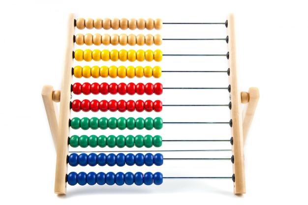 Abacus coloré pour apprendre à compter Photo Premium