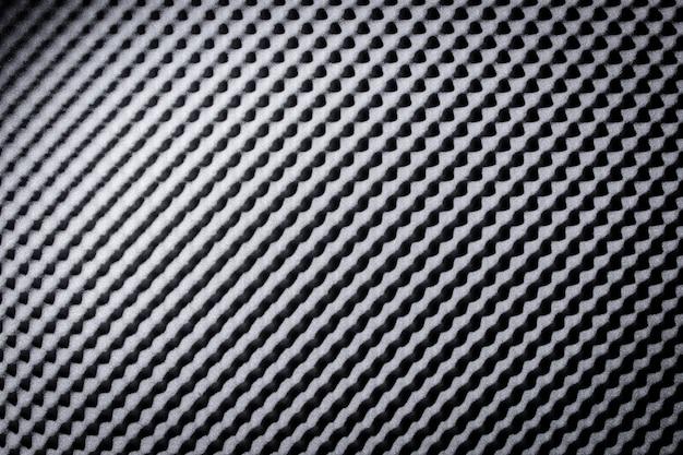 Absorbant la mousse acoustique noire grise, arrière-plan Photo Premium