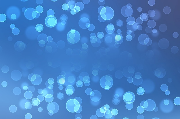 Abstract light bokeh background Photo gratuit