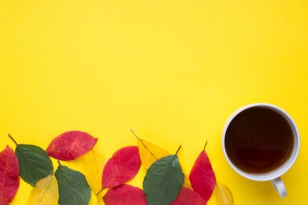 Abstraction, le concept de l'automne Photo Premium
