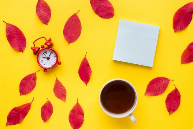 Abstraction, le concept de l'automne. Photo Premium