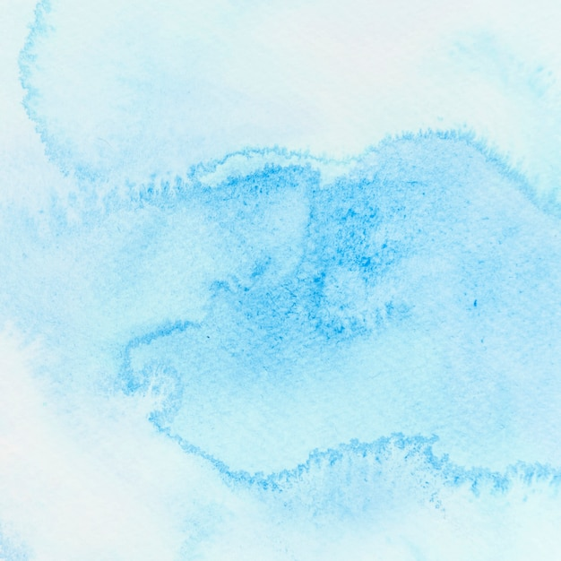 Abstrait Aquarelle Bleue Photo gratuit
