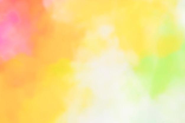 Abstrait aquarelle chaud Photo gratuit