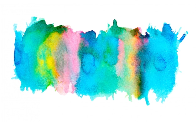 Abstrait aquarelle. Photo Premium
