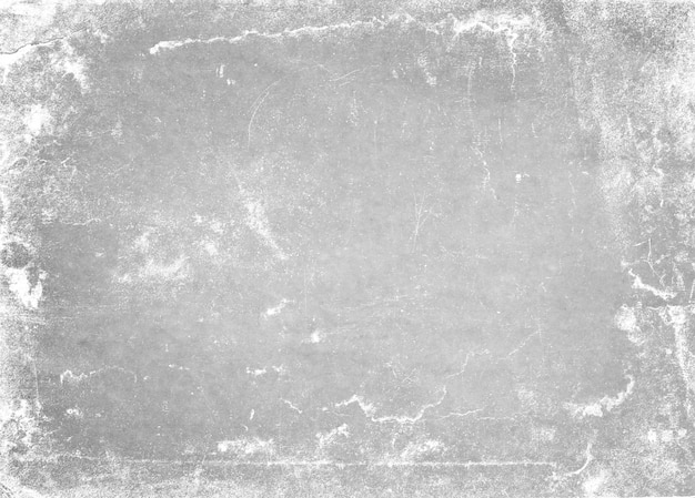 Abstrait Cadre Sale Ou Vieillissement. Texture De Particules De Poussière Et Grain De Poussière Sur Fond Blanc, Photo Premium