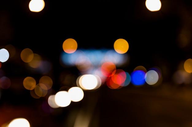Abstrait coloré avec effet de lumières défocalisés Photo gratuit