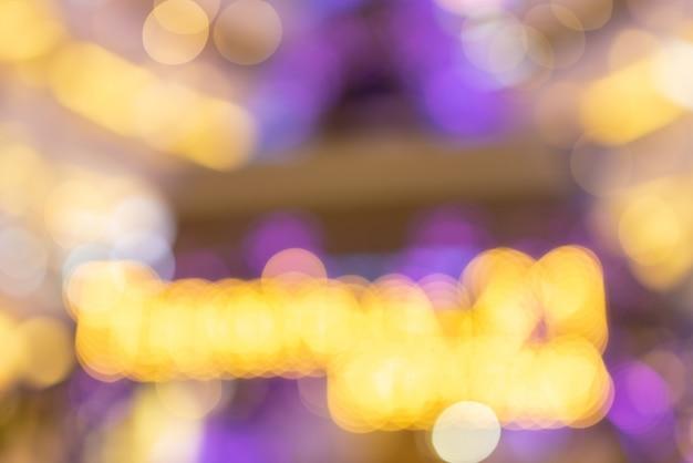 Abstrait Coloré Nuit Et Bokeh Photo Premium