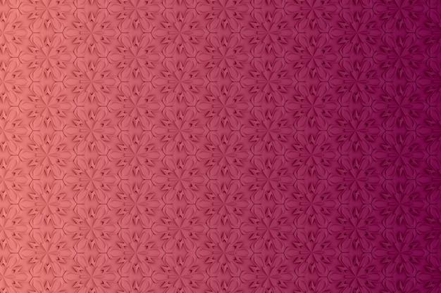 Abstrait couleur géométrique basé sur une grille hexagonale Photo Premium