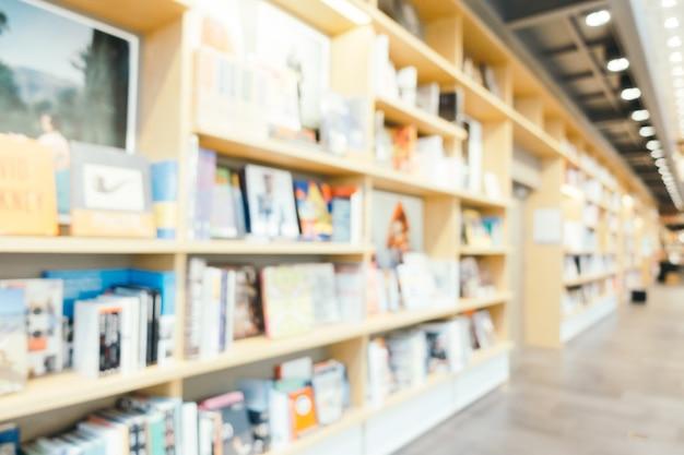 Abstrait Et Défouffé Librairie Et Librairie En Magasin Photo gratuit