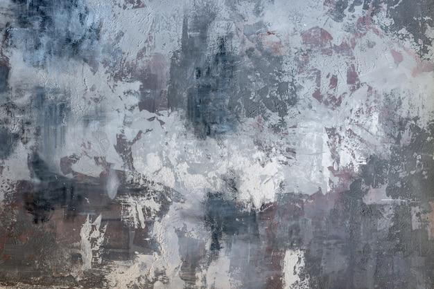 Abstrait dessin peinture sur le mur Photo Premium