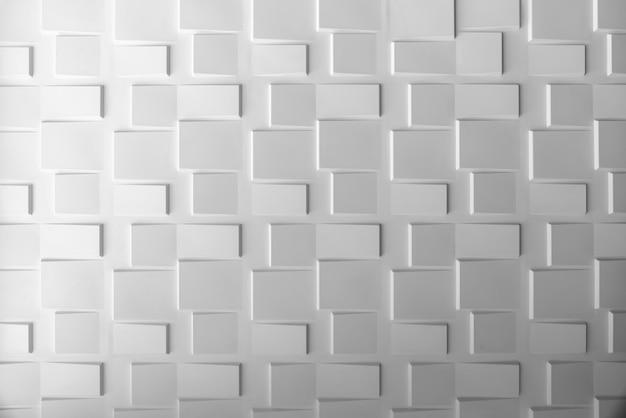 Abstrait du mur blanc avec la lumière de la fenêtre. fond d'écran moderne. Photo Premium