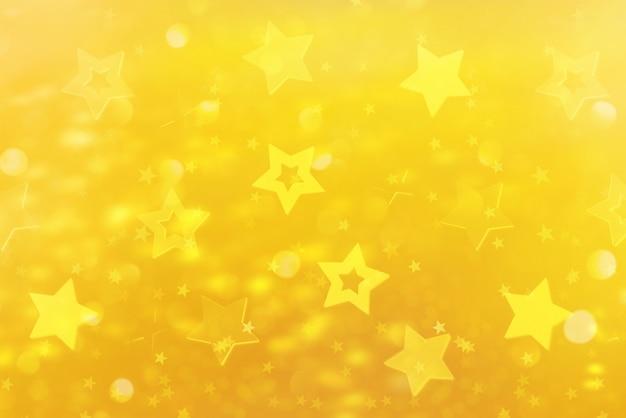 Abstrait festif avec des étoiles bleues. Photo Premium