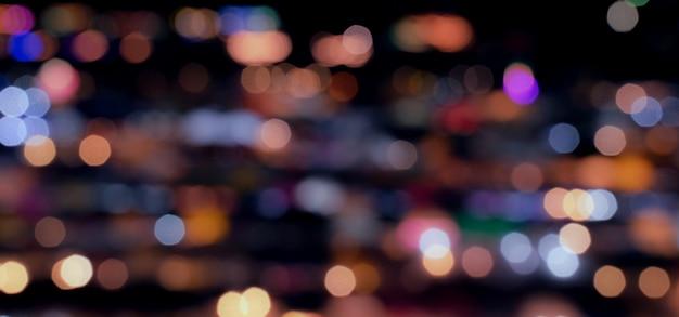 Abstrait flou bokeh Photo Premium