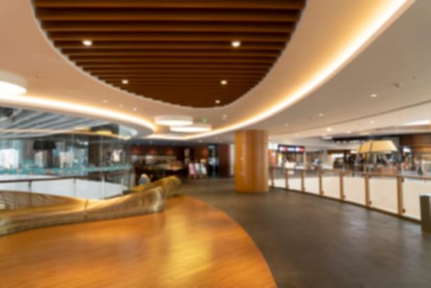 Abstrait flou et défocalisé intérieur de l'hôtel et du hall d'entrée pour le fond Photo Premium