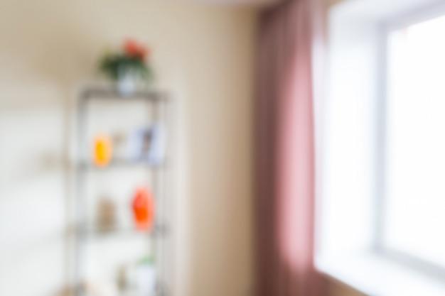 Abstrait flou intérieur Photo Premium