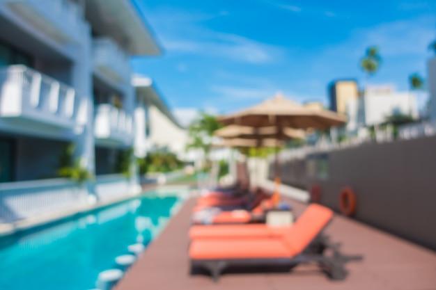 Abstrait flou de piscine Photo gratuit