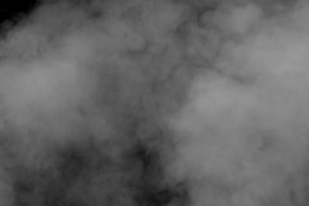 Abstrait Fumée Noir Et Blanc Photo Premium