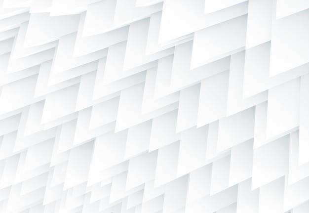 Abstrait géométrie forte blanc froid Photo Premium