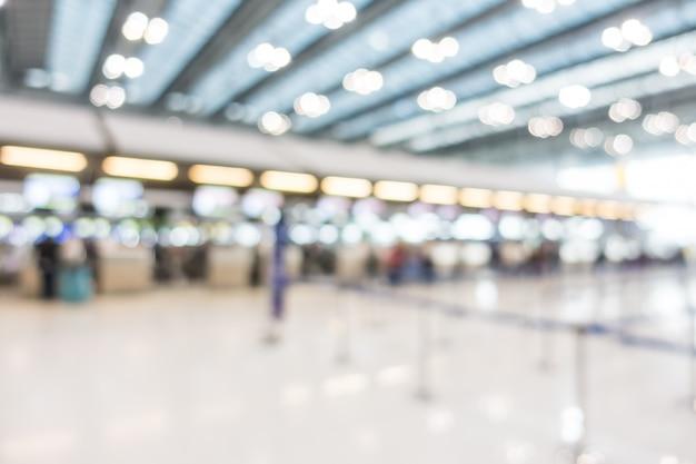 Abstrait intérieur aéroportuaire Photo gratuit