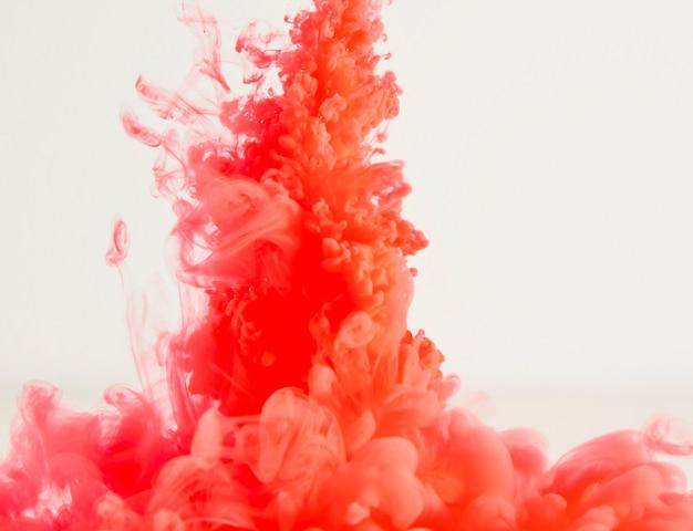 Abstrait Lourd Nuage Rouge De Brume Photo gratuit