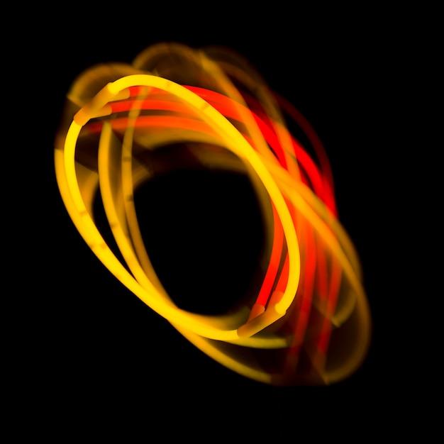 Abstrait Avec Des Lumières Colorées Photo gratuit