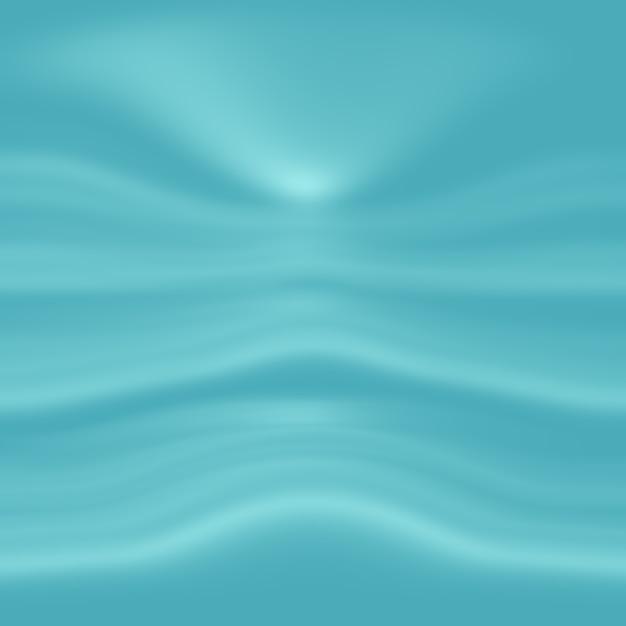 Abstrait Luxe Dégradé Bleu. Bleu Foncé Lisse Avec Bannière Studio Vignette Noire. Photo gratuit