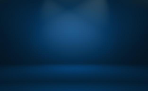 Abstrait Luxe Dégradé Bleu. Photo Premium