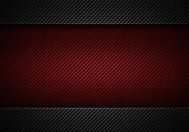 Abstrait moderne plaque noire perforée Photo Premium