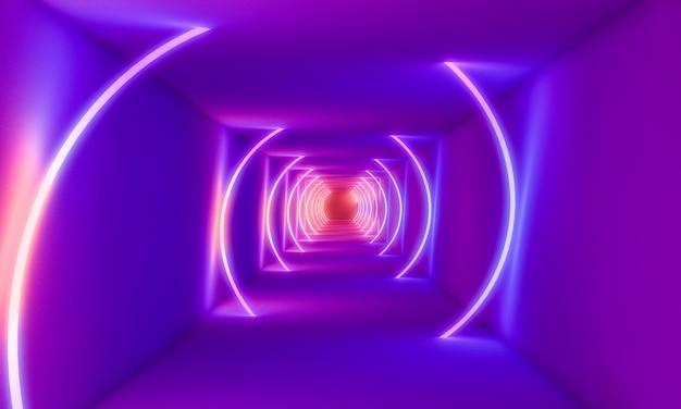 Abstrait néons Photo Premium