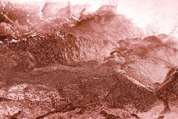 Abstrait Or Rose Texturé Cahoteux Photo gratuit