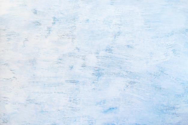 Abstrait peint un fond bleu clair. texture en bois bleu Photo Premium