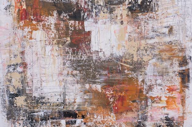 Abstrait de peinture à l'huile Photo Premium