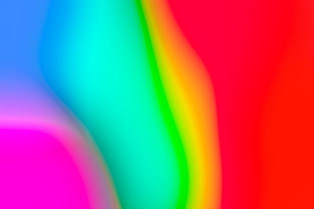 Abstrait Pop Floue Avec Des Couleurs Primaires Vives Photo gratuit