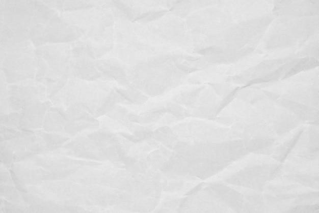 Abstrait De La Texture Du Papier Blanc Froissé Avec Grunge. Photo Premium