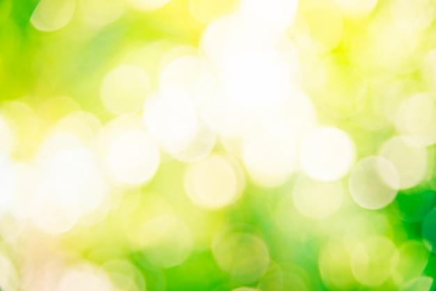 Abstrait vert bokeh Photo gratuit