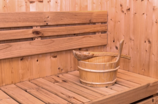 Accessoire De Salle De Sauna Photo Premium
