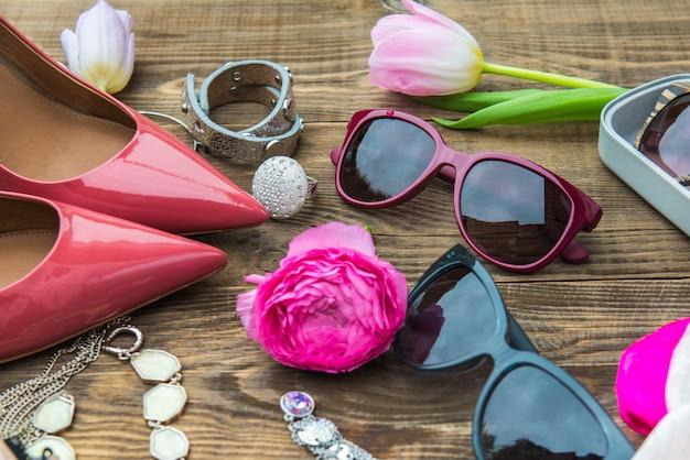 Accessoires De Mode Femme Photo Premium