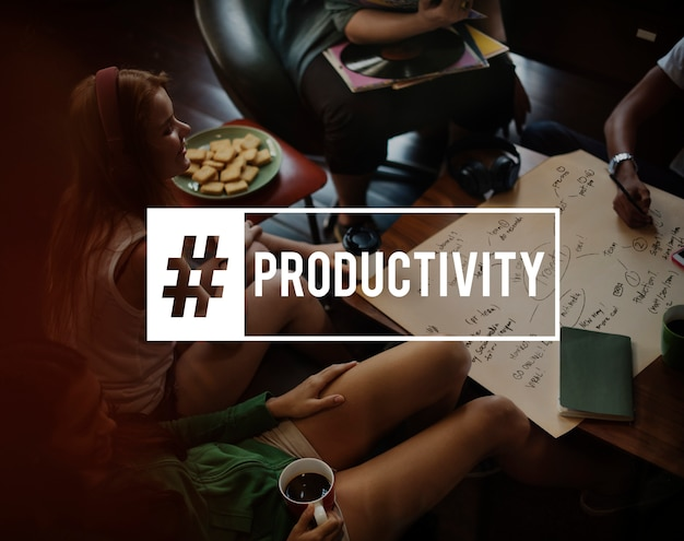 Accord de productivité business productivité Photo gratuit
