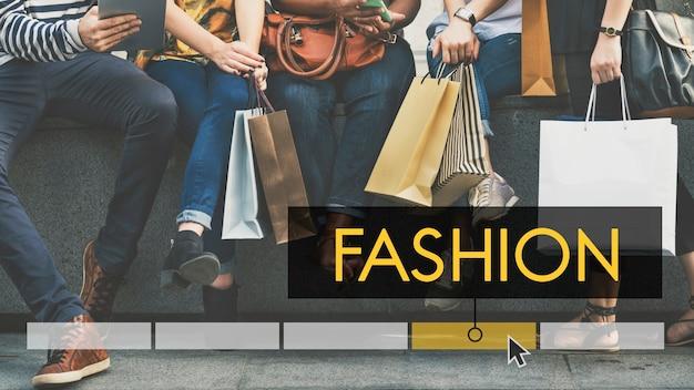 Achat vente discount mode style Photo gratuit