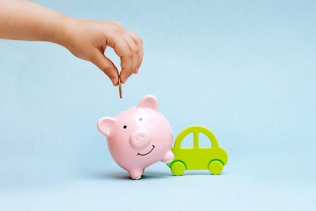 Achat d'une voiture à crédit et pour votre argent Photo Premium