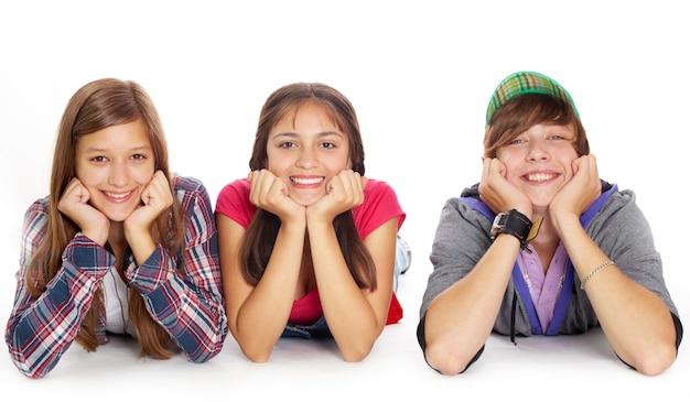 Adolescents rêvasser Photo gratuit
