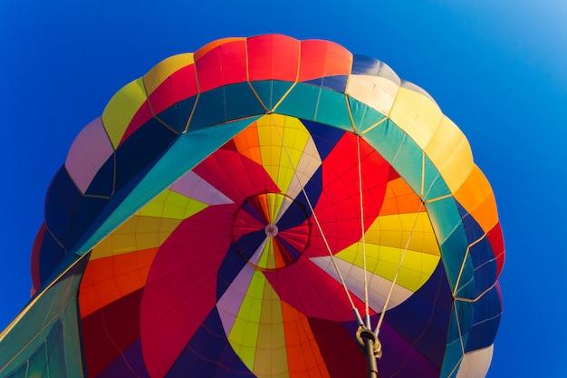 Aérostat à ballon Photo Premium
