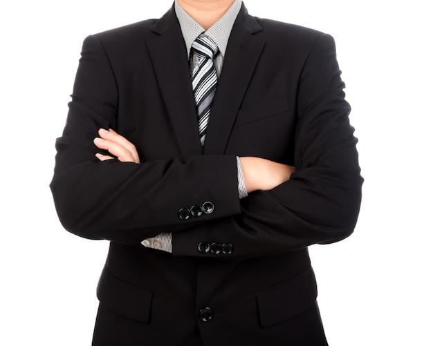 Affaires élégant avec les bras croisés Photo gratuit