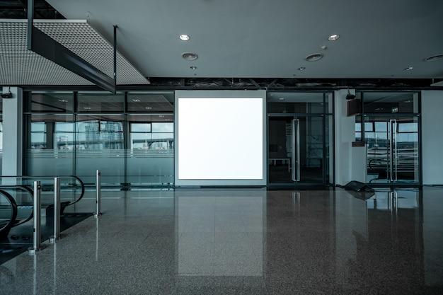 Affichage publicitaire vide Photo Premium