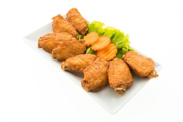 Aile de poulet frit Photo gratuit