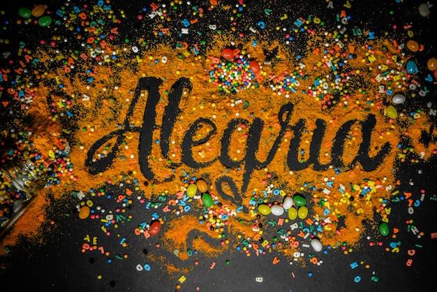 Alegria & happy Photo Premium