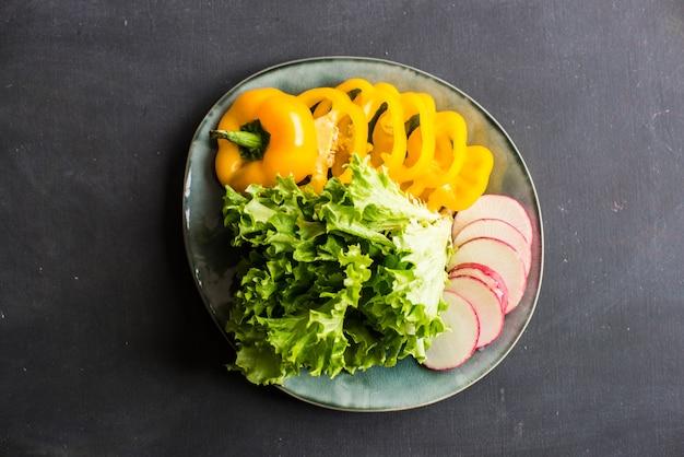 Aliments biologiques sains Photo Premium