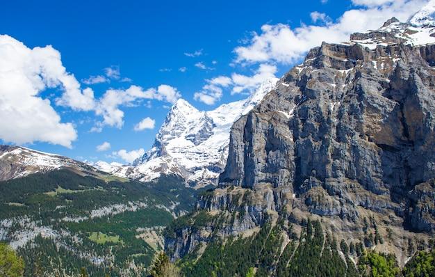 Alpes suisses Photo Premium